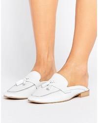 Park Lane Leather Mule Loafer Shoe