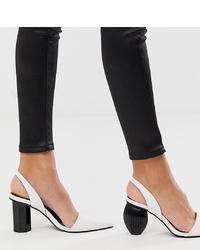 Bershka Interest Heel Mid Shoe