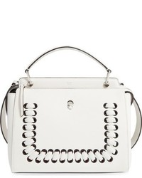 Dotcom lace up leather satchel medium 828478