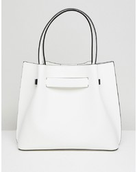 New Look Tote With Hardware Detail