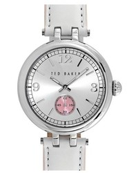 Ted Baker London Leather Strap Watch 36mm