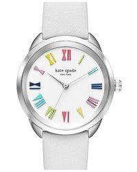 Kate Spade New York Crosstown Leather Strap Watch 34mm