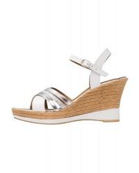 Platform sandals white medium 4014458