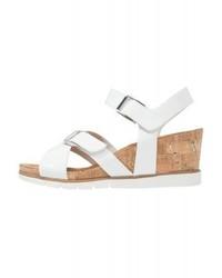 Wedge sandals white medium 4059961