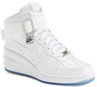 huge selection of 894a1 bfc93 ... Nike Lunar Force 1 Sky Hi Sneaker ...