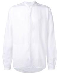 Canali Mandarin Collar Shirt
