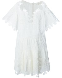 Chloé Embroidered Detail Playsuit