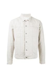 White Linen Shirt Jacket
