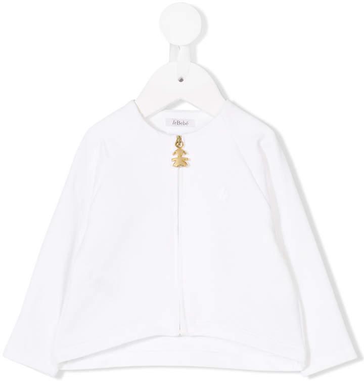 Le Beb Enfant Long Sleeved Zipped Blouse