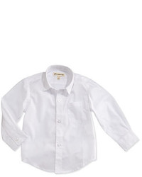 Appaman Childrens Clothing Appaman Solid Button Down Shirt White 2t 14