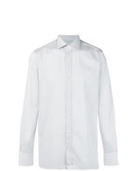 Z Zegna Dotted Pattern Shirt