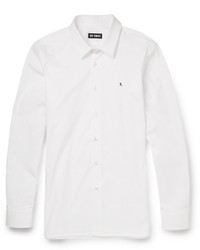 Raf Simons Slim Fit Cotton Poplin Shirt