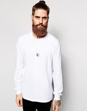 e46e3c146f ... American Apparel Fine Jersey Long Sleeve T Shirt White