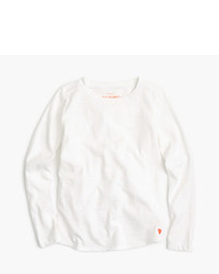 J.Crew Girls Supersoft Long Sleeve T Shirt