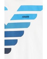 Armani Junior Logo Graphic T Shirt