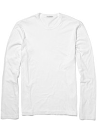 James Perse Long Sleeved Cotton Jersey T Shirt
