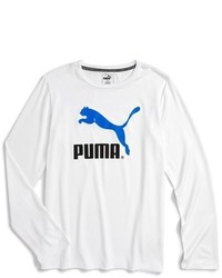 Puma No 1 Logo Long Sleeve Drycell T Shirt