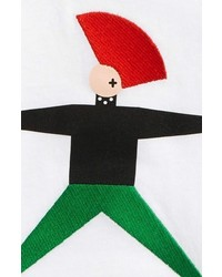 Burberry Punk Graphic Long Sleeve T Shirt