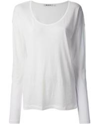 Alexander Wang T By Long Sleeve T Shirt