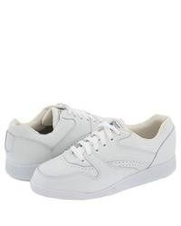 White Low Top Sneakers