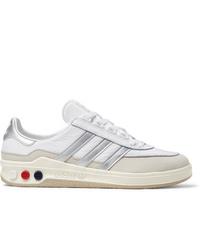 adidas Consortium Glxy Spzl Leather Sneakers