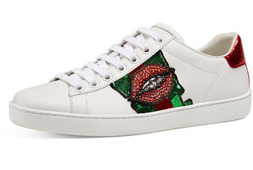 289ce166fb1 Gucci Gucci New Ace Embroidered Low-Top Sneaker