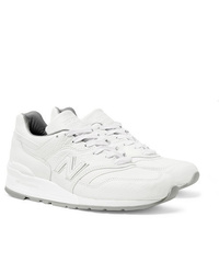 New Balance M997 Leather Sneakers