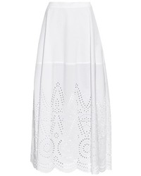 Stella McCartney Penelope Broderie Anglaise Panel Maxi Skirt