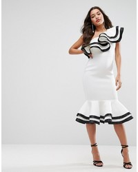 7de950c365b Women s White Midi Dresses by Asos