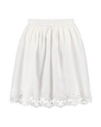 Only Onlsara Mini Skirt Cloud Dancer