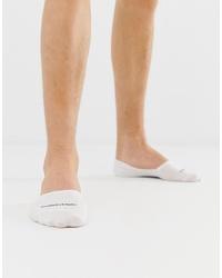 Calvin Klein Invisible Socks In White