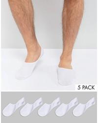 Jack and Jones Jack Jones Invisible Socks 5 Pack