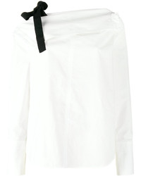 Proenza Schouler Off Shoulder Long Sleeve Blouse