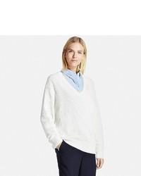 Uniqlo Oversized V Neck Sweater
