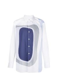 Comme Des Garcons SHIRT Comme Des Garons Shirt Patchwork Collared Shirt