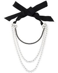 Multi strand pearl necklace medium 676124
