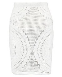 Ivyrevel Oud Mini Skirt White