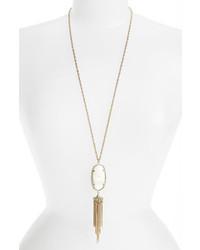 Rayne stone tassel pendant necklace medium 228847