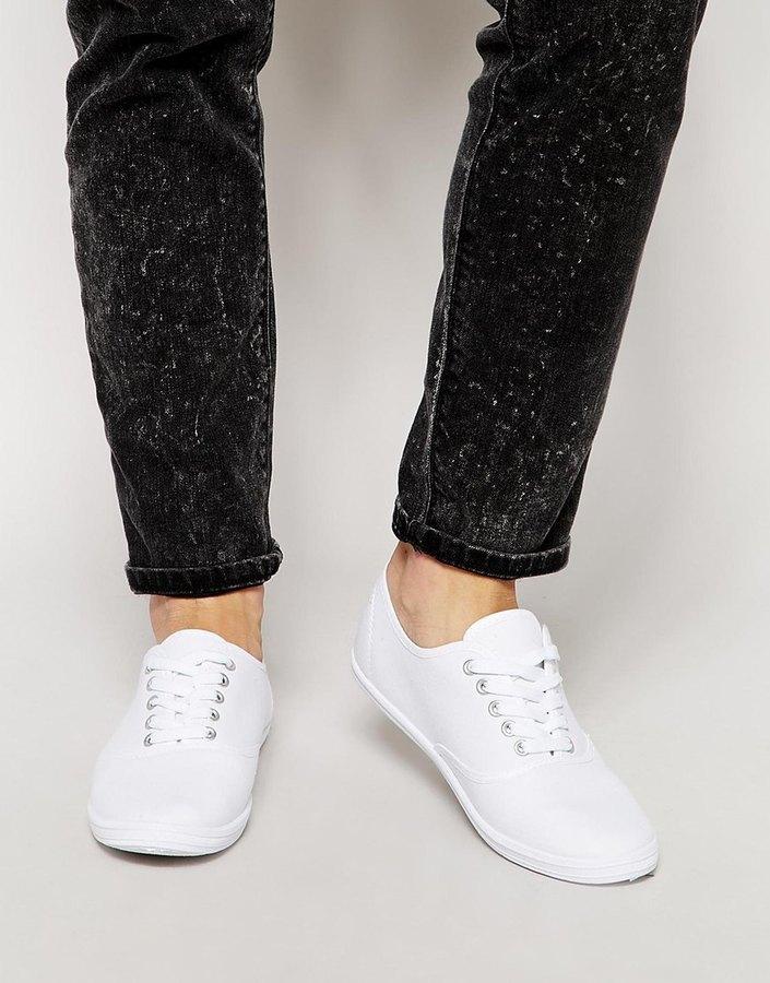 Asos Brand Sneakers, £13   Asos
