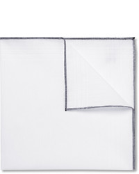 Tom Ford Linen And Cotton Blend Pocket Square