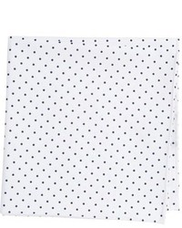 Ted Baker London Polka Dot Cotton Pocket Square