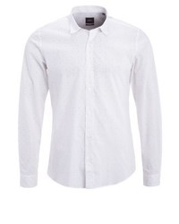 Modern fit shirt white medium 3778969