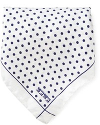 fe-fe Fef Polka Dot Pocket Square