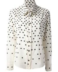 Blanche polka dot shirt medium 6677