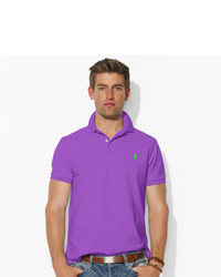 Polo Ralph Lauren Custom Fit Mesh Polo Shirt