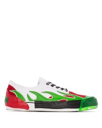 Palm Angels Lame Low Top Sneakers