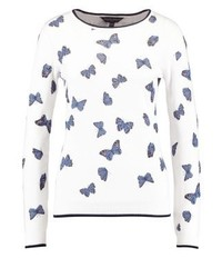 Dorothy Perkins Butterfly Jumper Ivory