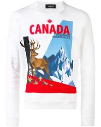 Canada moose print sweatshirt medium 3762203