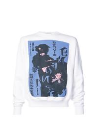 Enfants Riches Deprimes Enfants Riches Dprims Deranged Geisha Print Sweater
