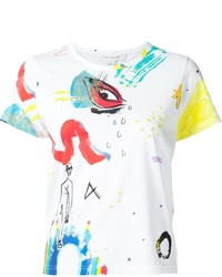 Marc Jacobs Collage Print Classic T Shirt